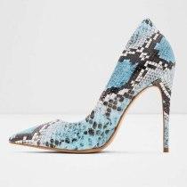Arden Furtado Summer Fashion Trend Women's Shoes Pointed Toe Stilettos Heels Serpentine Sexy Elegant Slip-on Pumps Big size 45