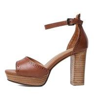 Arden Furtado Summer Fashion Trend Women's Shoes Sexy Elegant pure color Sandals Buckle Classics Buckle Waterproof Narrow Band