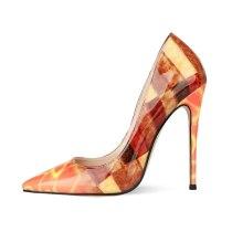 Arden Furtado Summer Fashion Women's Shoes Pointed Toe Stilettos Heels Sexy Party Shoes  Slip on Elegant Slip-on Big size 45