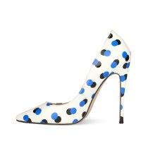 Arden Furtado Summer Fashion Trend Women's Shoes Pointed Toe Stilettos Heels  Sexy Elegant pure color Slip-on Shallow Mature