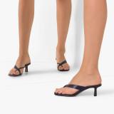 Arden Furtado Summer Fashion Trend Women's Shoes  Stilettos Heels Concise  Sexy Elegant pure color Slippers Classics Big size 45