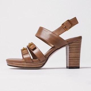 Arden Furtado Summer Fashion Trend Women's Shoes  Chunky Heels  Sexy Elegant pure color Buckle Waterproof Sandals  Big size 43
