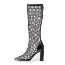 Arden Furtado Summer Fashion Trend Women's Shoes  Sexy Elegant Ladies Boots Wire side Classics Concise Mature Cool boots new