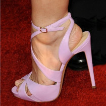 Arden Furtado new style high extreme heels 12cm stilettos heels fashion shoes purple sandals women's shoes