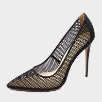 Arden Furtado Summer Fashion Trend Women's Shoes Pointed Toe Stilettos Heels  Sexy Elegant pure color Slip-on Pumps Big size 45
