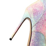 Arden Furtado Fashion Women's Shoes Winter Pointed Toe Stilettos Heels Zipper Cross Lacing Elegant Ladies Boots Concise Mature