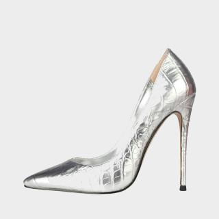 Arden Furtado Summer Fashion Women's Shoes Pointed Toe Stilettos Heels new gold  silver Classics Sexy Elegant Slip-on Shallow