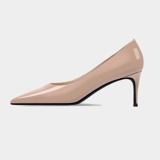 Arden Furtado Spring Fashion Women's Shoes Pointed Toe Stilettos Heels Sexy Elegant  pure color Mature high heels red pumps