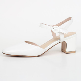 Arden Furtado Summer Fashion Women's Shoes Buckle Strap Round Toe pure color white Sexy Elegant Chunky Heels Sandals Party Shoes