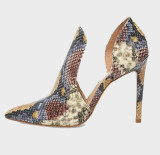 Arden Furtado Summer Fashion Women's Shoes Pointed Toe Sexy Classics Pointed Toe Stilettos Heels Serpentine Elegant ankle boots
