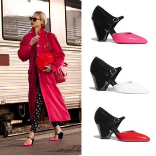 Arden Furtado Summer Fashion Women's Shoes Buckle Strap pure color Sexy Elegant Sandals Party Shoes