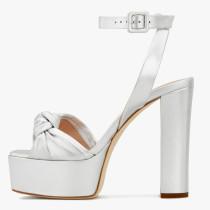 Arden Furtado Summer Fashion Women's Shoes Chunky Heels Sexy Elegant Pure Color velvet Sandals Buckle platform Party Shoes
