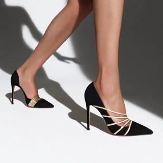 Arden Furtado 2021 New Spring Summer Fashion Women's Shoes Pointed Toe Stilettos Heels Sexy Elegant Ladies Heels Sandals 46 47