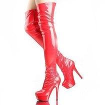 Arden Furtado 2021 Winter Fashion Women's Shoes Red white Waterproof sexy Stilettos Heels Over The Knee Boots Elegant New
