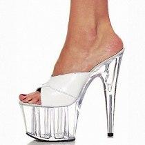 Arden Furtado Summer Fashion Women's Shoes  Heels Stilettos Heels Sexy Pink Peep Toe  platform ladies Slippers New