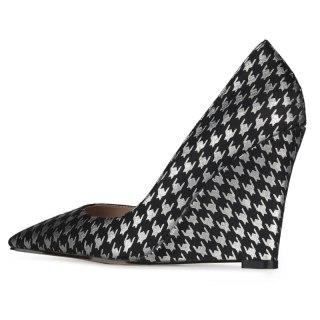 Arden Furtado 2021 Spring  autumn Fashion Wedges Women's Shoes Elegant Pointed Toe slip on high heels ladies Pumps NEW ARRIVEL