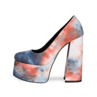 Arden Furtado 2021 spring autumn shoes woman high heels slip on platform chunky heels ladies shoes women's shoes pumps Big size