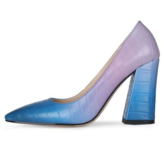 Arden Furtado 2021New Summer Fashion  Women's Shoes Elegant Pointed Toe Sexy Block heels Party shoes Pumps 47