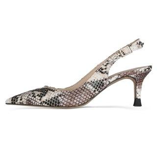 Arden Furtado 2021 summer Fashion Women's Shoes poots Serpentine Buckle Sandals Stilettos Heels Pointed Toe large size 45