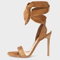 Arden Furtado Summer Fashion Women's Shoes  Stilettos Heels Sexy Ankle Strap Elegant pure color Sandals Buckle strap Party Shoes