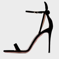 Arden Furtado Summer Fashion Women's Shoes  New Stilettos Heels Sexy Elegant Pure Color Apricot Sandals Buckle Strap Party Shoes