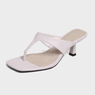 Arden Furtado Summer Fashion Women's Shoes  Stilettos Heels New Sexy  Square Head Elegant Slippers heels