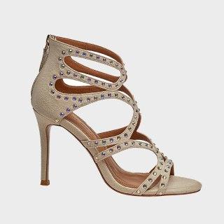 Arden Furtado Summer Fashion Women's Shoes Sexy Crystal Rhinestone Elegant Stilettos Heels Classics Back Zipper 33 40