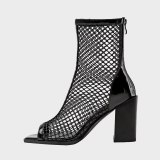 Arden Furtado 2021 Summer Chunky Heels  Sandals  Cool Boots Block High Heels  Party Shoes Short Boots  33 41 42