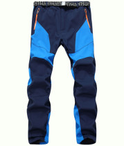 Outdoor Fleece Lined Soft Shell Snow Pants- Water-Resistant, Windproof KL912140
