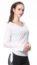 Women's Long Sleeve Stretchy Top Solid Color Fashion T Shirt KL636990