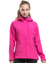 Women's Full-Zip Midweight Soft shell Jacket KL972200