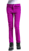Women's Insulated Fleece-Lined Cargo Pants - Water-Repellent, Wind-Resistant KL992080