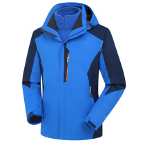 Men's Waterproof Mountain Jacket Fleece Windproof Ski Jacket KL982210