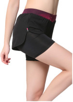 Women's YOGA Leggings Exercise Workout Shorts KL662110