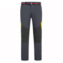 Men's Soft Shell Fleece Windproof Hiking Ski Pants KL912060