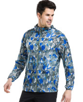 (S-2XL)Men's Super Lightweight Quick Dry Windbreaker UV Protect Coat