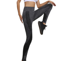 Wide Waistband Yoga Pants Stretch Leggings KL672070