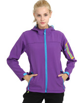 Sportswear Women's Hooded Softshell Waterproof Jacket KL972180