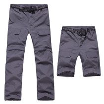 Men's Lightweight Belted Convertible Quick Dry Pants