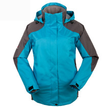 Women's Sportswear Outdoor Waterproof Windproof Hooded Ski Jacket KL972010