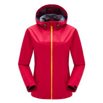 Women's Sportswear Hiking Waterproof Jacket Softshell Hooded Outerwear KL972170
