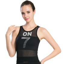 Women's Lightweight Workout Yoga Sport Sleeveless Tee Shirts KL642300