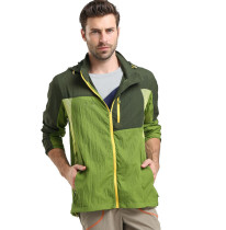 (M-2XL)Men's Breathable Quick Drying Ultra Thin Windbreaker