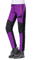 Women's Soft Shell Fleece Windproof Hiking Ski Pants KL992030