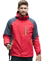 Men's Outdoor Sportswear Mountain Jacket Hooded Windproof Ski Jacket KL982110