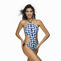 Women's Retro Raceback One Piece Swimsuit KL832090