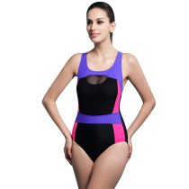 Women's Pro One Piece Athletic Swimsuit KL852110