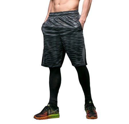 Men's Camouflage Mesh Basketball Shorts with Pockets KL762110