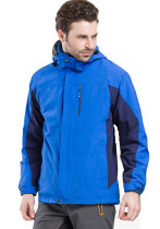 Men's Sportswear Outdoor Waterproof Windproof Hooded Warm Ski Jacket KL982130
