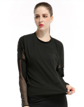 Women's Long Sleeve Stretchy Top Solid Color KL636790